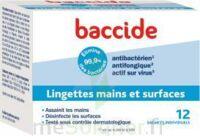 Baccide Lingette Désinfectante Mains & Surface 12 Pochettes à CHASSE SUR RHONE