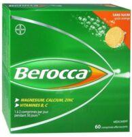 Berocca Comprimés effervescents sans sucre T/60 à CHASSE SUR RHONE