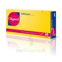 Oligosol Lithium Solution buvable en ampoule ou en récipient unidose 28Amp/2ml à CHASSE SUR RHONE