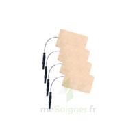 Stimex Electrode rectangulaire électrostimulation 50x90mm B/4 à CHASSE SUR RHONE