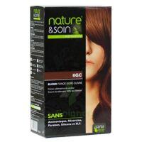 Nature & Soin Kit coloration 6GC blond foncé doré cuivré à CHASSE SUR RHONE