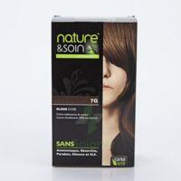 Nature & Soin Kit coloration 7G blond doré à CHASSE SUR RHONE