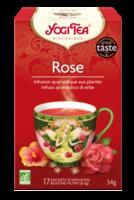 Yogi Tea Thé Tao Tea Rose Bio 17 Sachets à CHASSE SUR RHONE