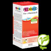 Pédiakid Fer + Vitamines B Sirop banane 125ml à CHASSE SUR RHONE