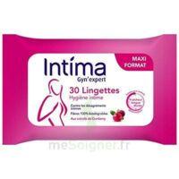 Intima Gyn'Expert Lingettes Cranberry Paquet/30 à CHASSE SUR RHONE