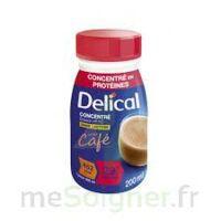 DELICAL BOISSON HP HC CONCENTREE Nutriment café 4Bouteilles/200ml à CHASSE SUR RHONE