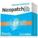 Nicopatchlib 14 Mg/24 H Dispositifs Transdermiques B/28 à CHASSE SUR RHONE