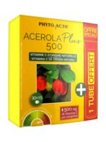 Phyto-Actif Acérola Plus 500 30 Comprimés + 15 Comprimés Offerts à CHASSE SUR RHONE