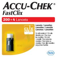 Accu-chek Fastclix Lancettes B/204 à CHASSE SUR RHONE
