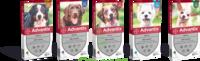 Advantix Solution externe petit chien 4-10kg 4 Pipettes/2,5ml à CHASSE SUR RHONE