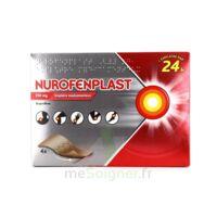 NUROFENPLAST 200 mg Emplâtre médic 4Sach à CHASSE SUR RHONE