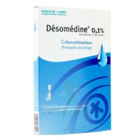 DESOMEDINE 0,1 % Collyre sol 10Fl/0,6ml à CHASSE SUR RHONE
