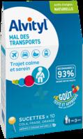 Alvityl Sucette Mal Des Transports B/10 à CHASSE SUR RHONE