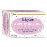 Babysoin Solution Sérum Physiologique 30 Unidoses/5ml à CHASSE SUR RHONE