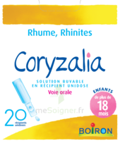 Boiron Coryzalia Solution buvable unidose B/20 à CHASSE SUR RHONE