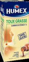 Humex 5 % Solution Buvable Expectorant Sans Sucre Adulte Fl/250ml à CHASSE SUR RHONE