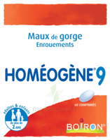 Boiron Homéogène 9 Comprimés à CHASSE SUR RHONE