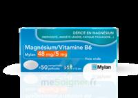 Magnesium/vitamine B6 Mylan 48 Mg/5 Mg, Comprimé Pelliculé à CHASSE SUR RHONE