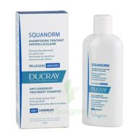 Ducray Squanorm Shampooing Pellicule Grasse 200ml à CHASSE SUR RHONE