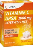 Vitamine C Upsa Effervescente 1000 Mg, Comprimé Effervescent à CHASSE SUR RHONE
