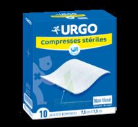 Urgo Compresse Stérile Non Tissée 10x10cm 10 Sachets/2 à CHASSE SUR RHONE